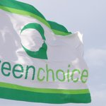 Vlag in wind greenchoice