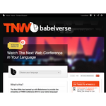 Babelverse powers interpretation for tnw