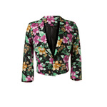 Tropical print blazer 25euro in stores mid april