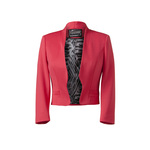 Cerise scuba jacket 25euro in stores mid april