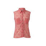 Lace sleeveless shirt 11euro in store end april