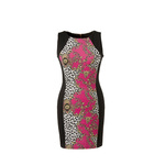Print panelled bodycon 15euro in stores end march
