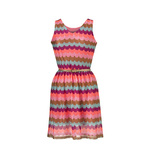 Neon zig zag dress 19euro in stores end april