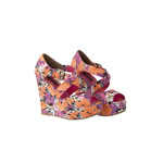 Floral print limited edition wedge 23euro in stores early may