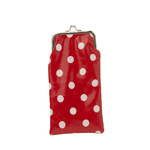 Red polka dot sunglasses pouch 2euro in stores early may