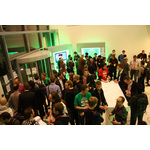 Chaos during forming of the teams on friday night at startup weekend eindhoven