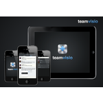 Teamvisio works currently on mobile, tablet & pc platforms