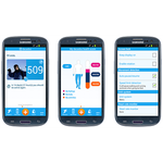 Dacadoo tracker app for android smartphone