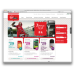 Virgin mobile australia homepage