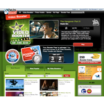 Video boosters main page