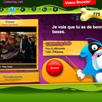 Video booster interstitial score - french