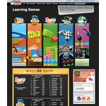 Learning games page