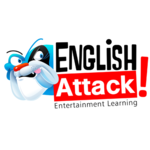 English attack! logo