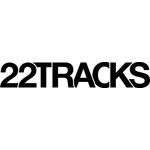 22tracks logo black on white